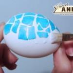 Mozaik húsvéti tojás
