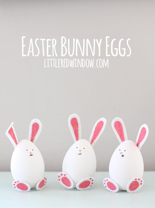 húsvéti ötletl tojásfestéshez - nyuszi tojás húsvétra