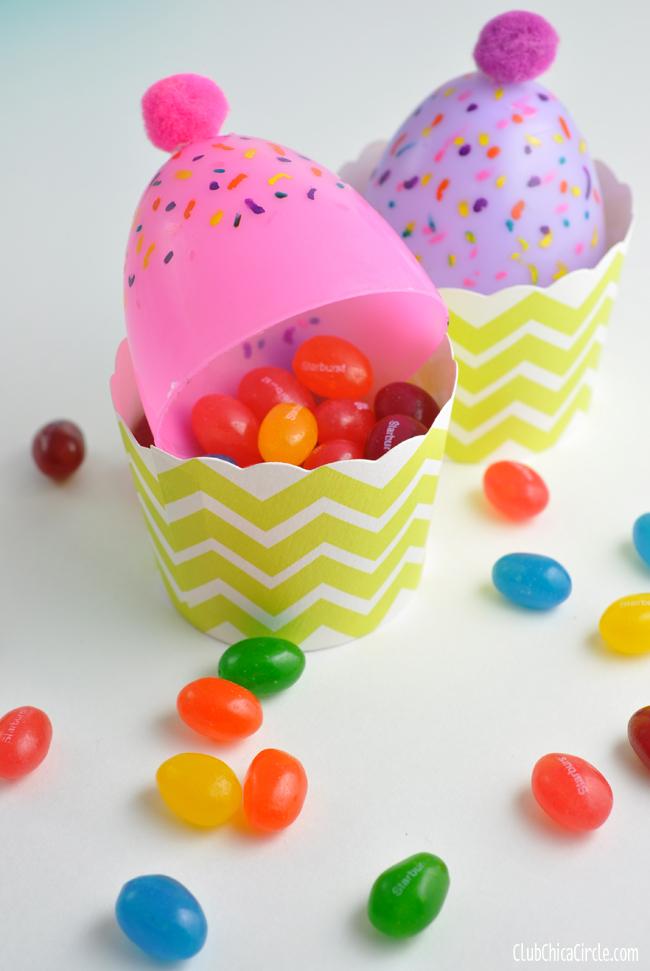 muffin húsvéti tojás