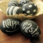 húsvéti tojás táblafestékkel