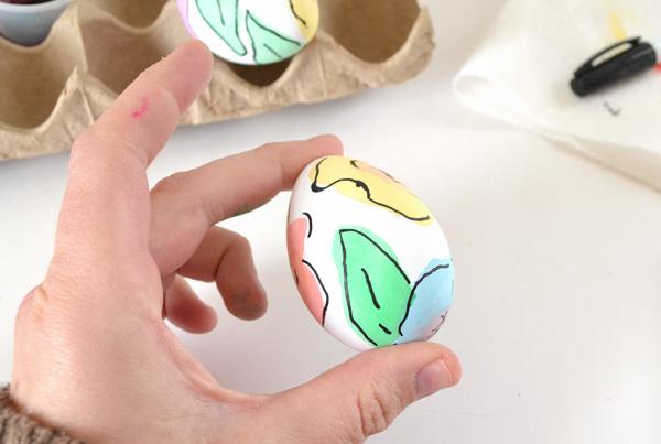 Kreatív tojás húsvétra