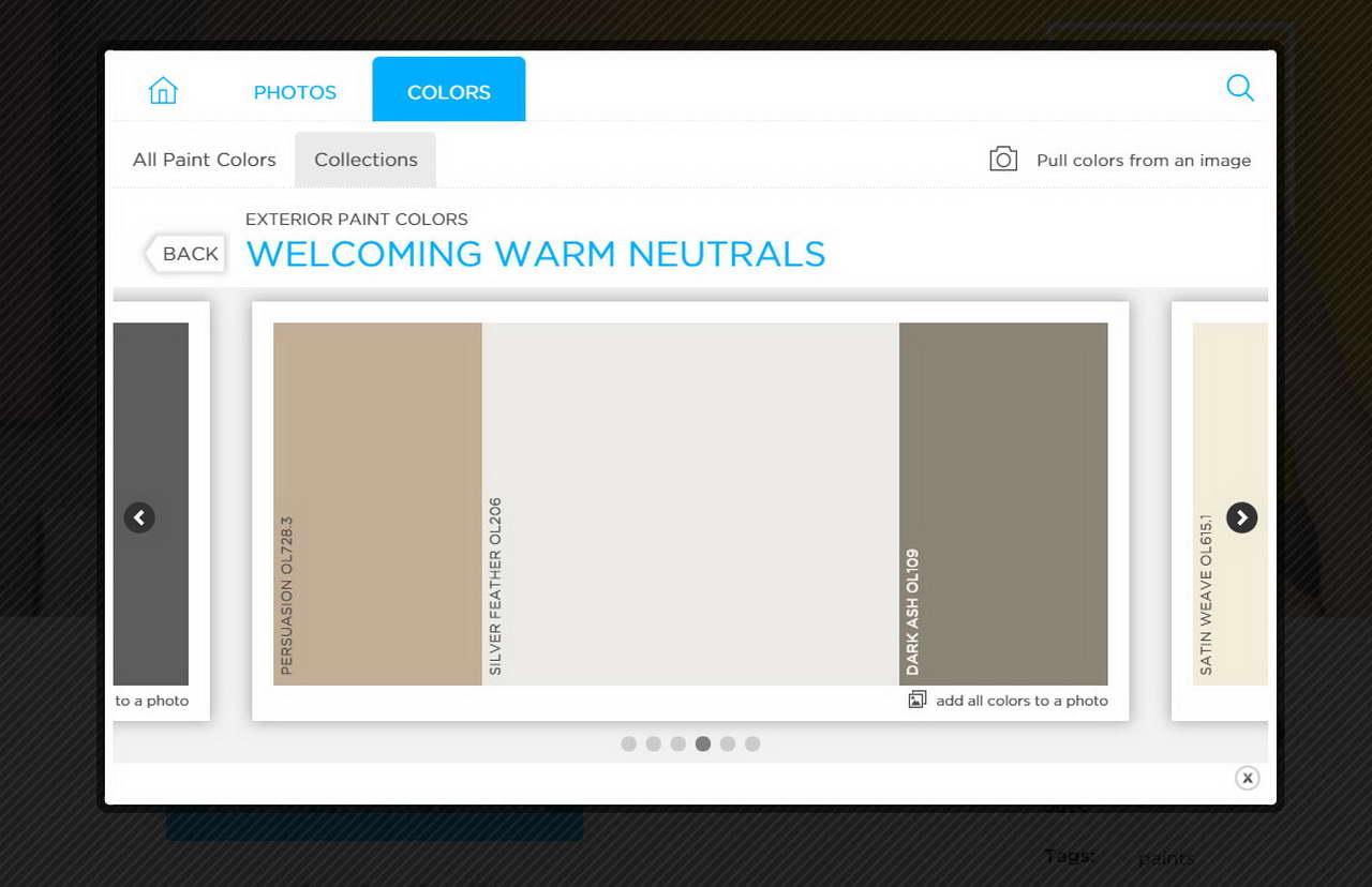 ingyenes lakberendező szoftver színsegéd és színminták