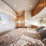 kör ház - kör villa körpanorámával hálószoba