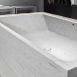 19 különleges kád ami kőből készült és néhány kő mosdó