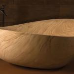 különleges kőből készült kád