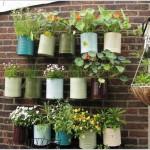 kertépítés ötlet - kert a falon - falikert