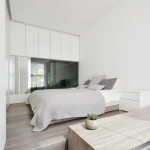 kis lakás berendezése - hálószoba