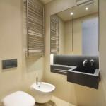 kis lakás berendezése - fürdőszoba