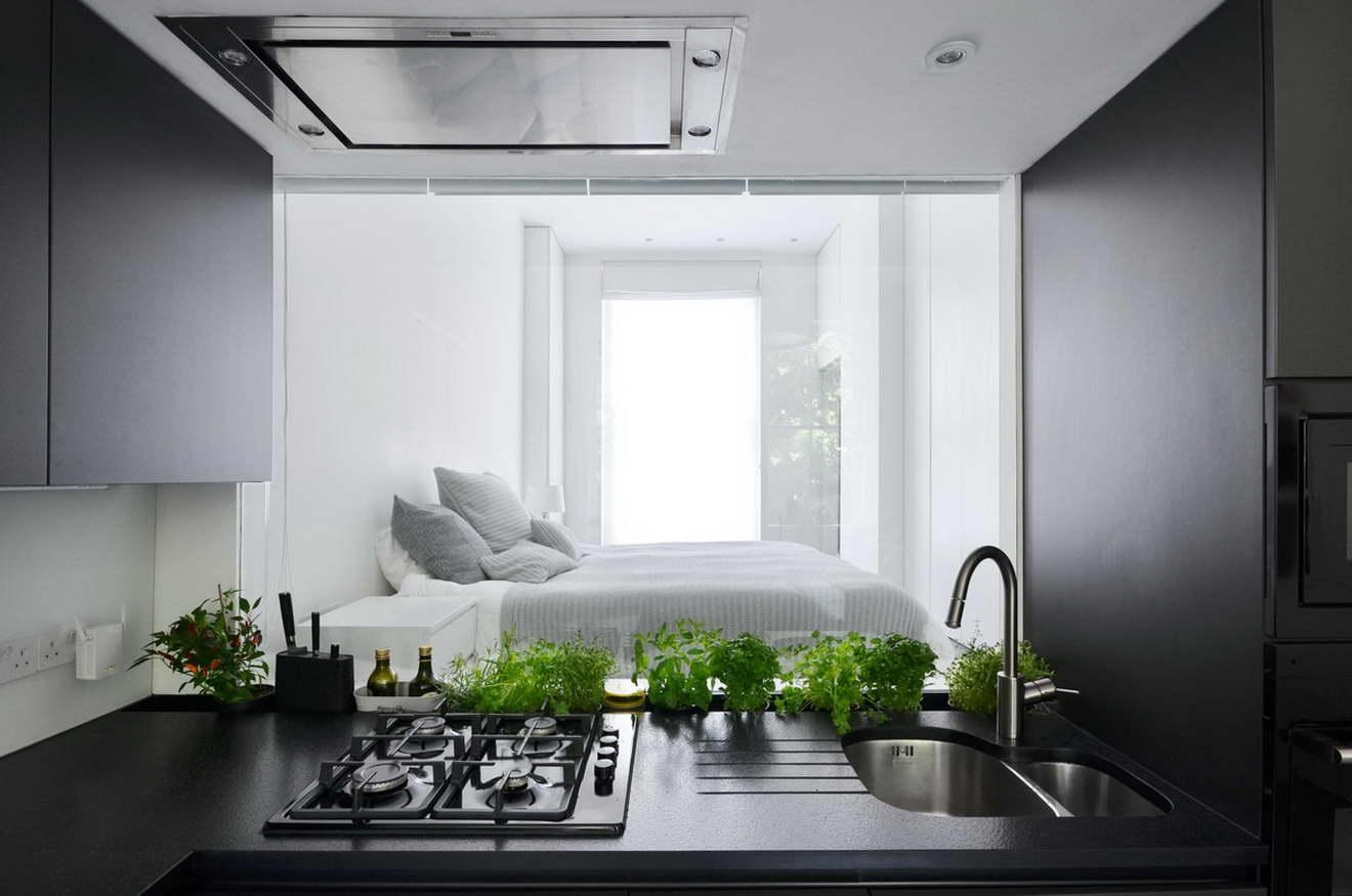 kis lakás berendezése - nappali