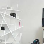 modern könyvespolc - crash