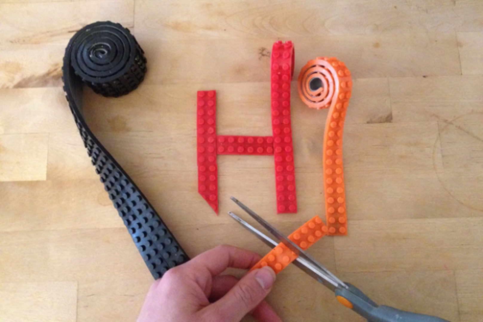 LEGO ragasztószalag vágható