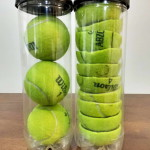 mókás újrahasznosítási ötlet - tenisz labda tartó