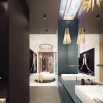 művészi buja fürdőszoba - szép ház