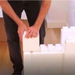 Az Óriás Lego vissza hozza a gyerekkorod kreativitását akár a nappalidba
