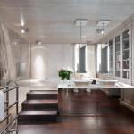 modern Art Deco fürdőszoba