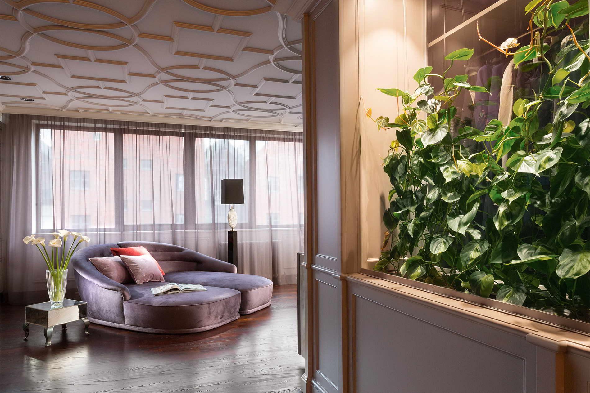 modern Art Deco hálószoba