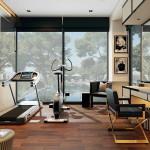 modern art deco edzőterem