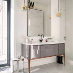 modern lakás - régi - új dizájn - fürdőszoba könzol szekrény