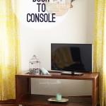 régi-ajtó-kreatív-újrahasznosítás - tv szekrény