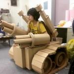 régi papírdobozok újrahasznosítása - csillagok háborűja - tank