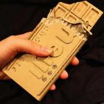 régi papírdobozok újrahasznosítása - csoki