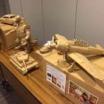 régi papírdobozok újrahasznosítása - tárgyak