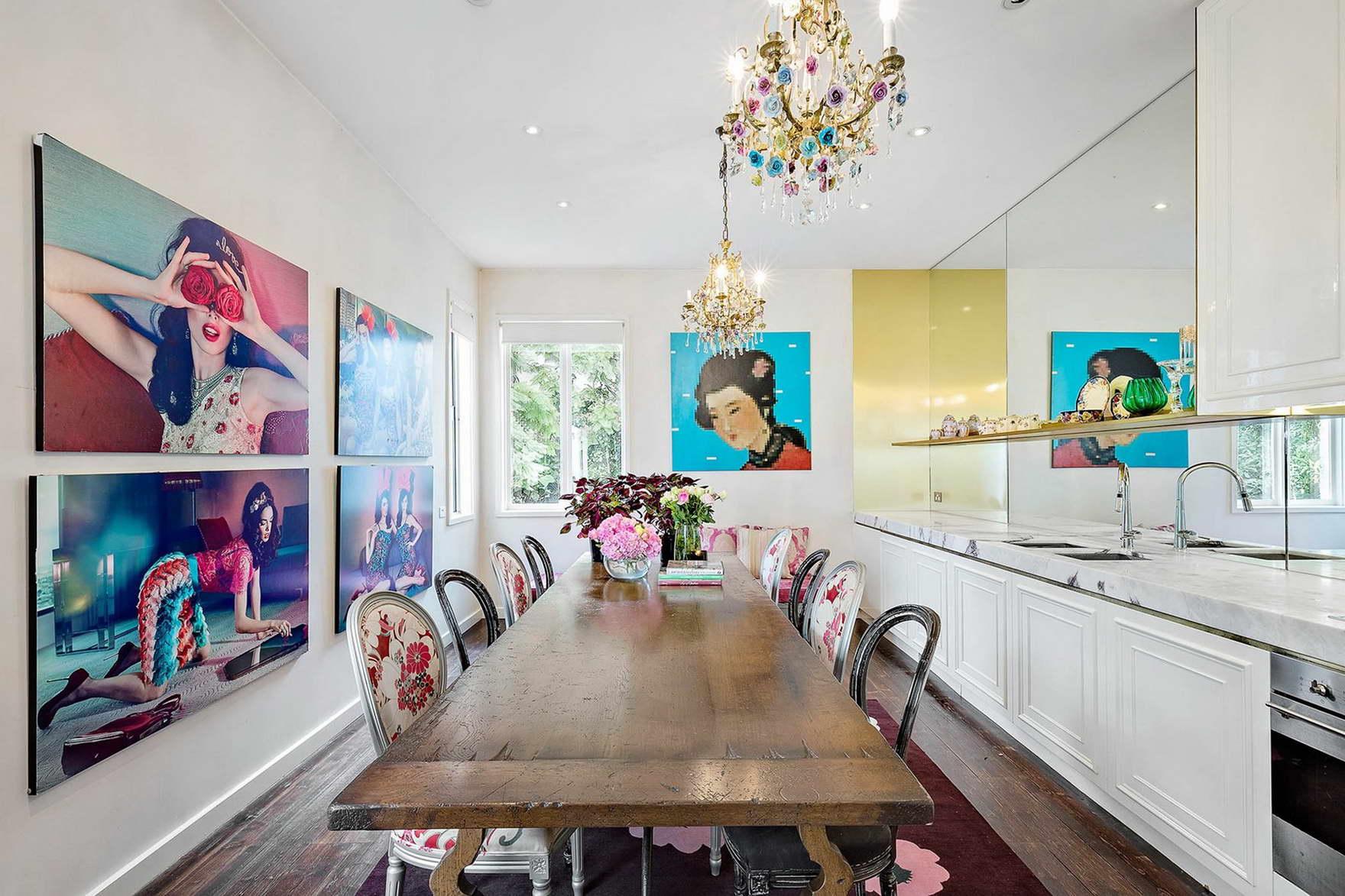 rózsaszín romantikus álom - barbi ház konyha