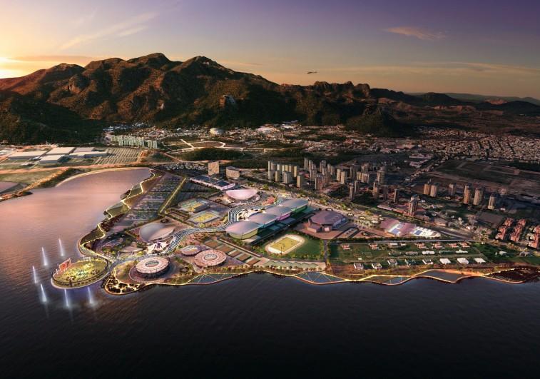 Riói olimpiai látványterv