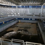 Riói olimpia helyszíne - fedett medence