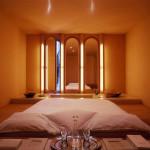 spanyol villa cementgyárból - hálószoba
