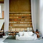 spanyol villa cementgyárból - nappali