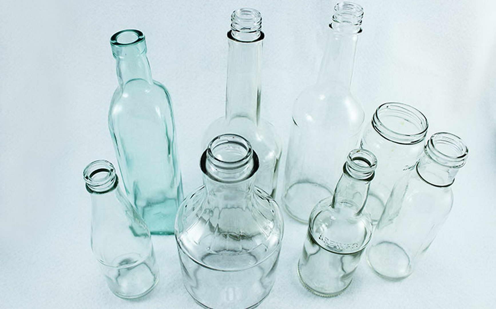 színes festett üveg váza elkészítése