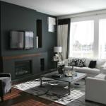 szoba szín és fal szín kiválasztása - fekete