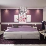 szoba szín és fal szín kiválasztása - lila