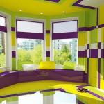 szoba szín választás - sok szín zsúfolt lesz