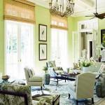 szoba szín és fal szín kiválasztása - zöld