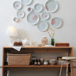 tányér díszátányér mint fali dísz és dekoráció