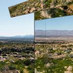 Tükör ház a kaliforniai sivatagban, nem csak kívül, belül is tükör