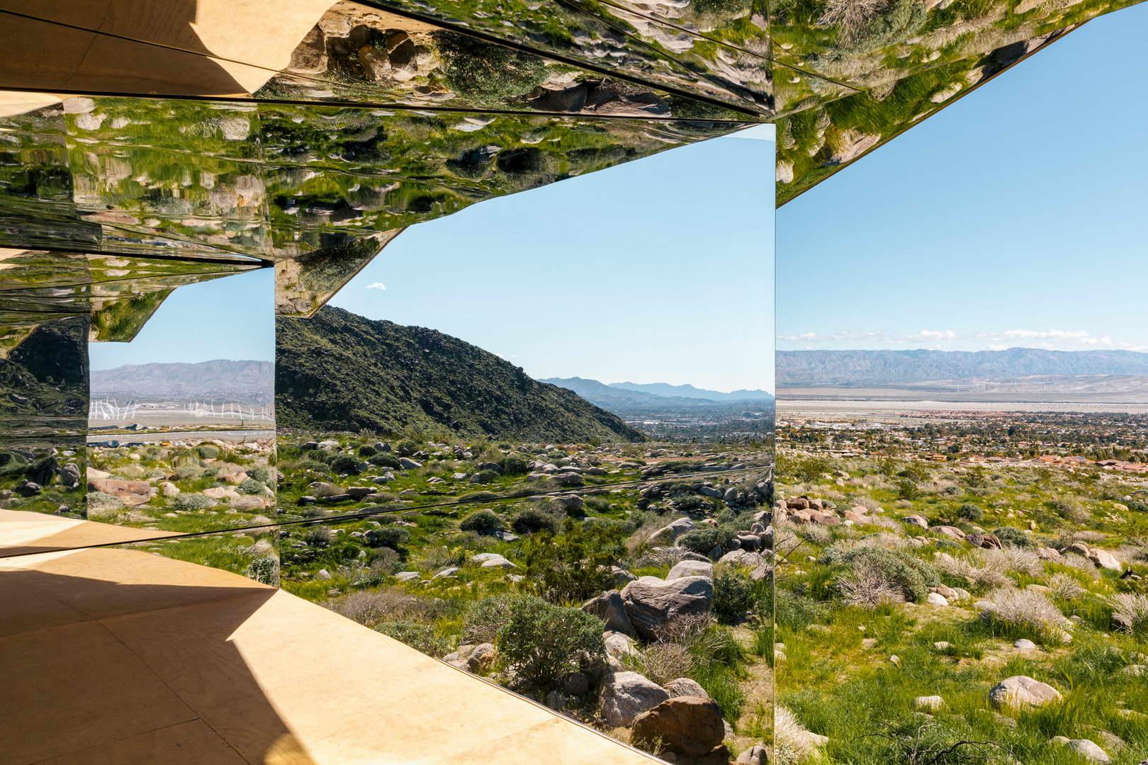 tükör ház belső tér
