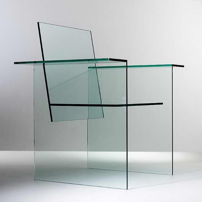dizájn szék - 1970 Shiro Kuramata