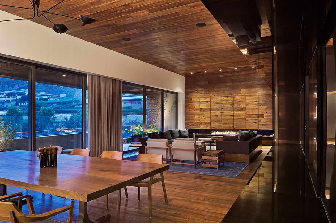 famennyezet - padló, fal és plafon egyben