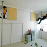 gyerek rejtekhely - beépített szekrény