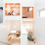 gyerek rejtekhely - lépcső felett
