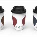 A' design kávéspohár hőmérővel