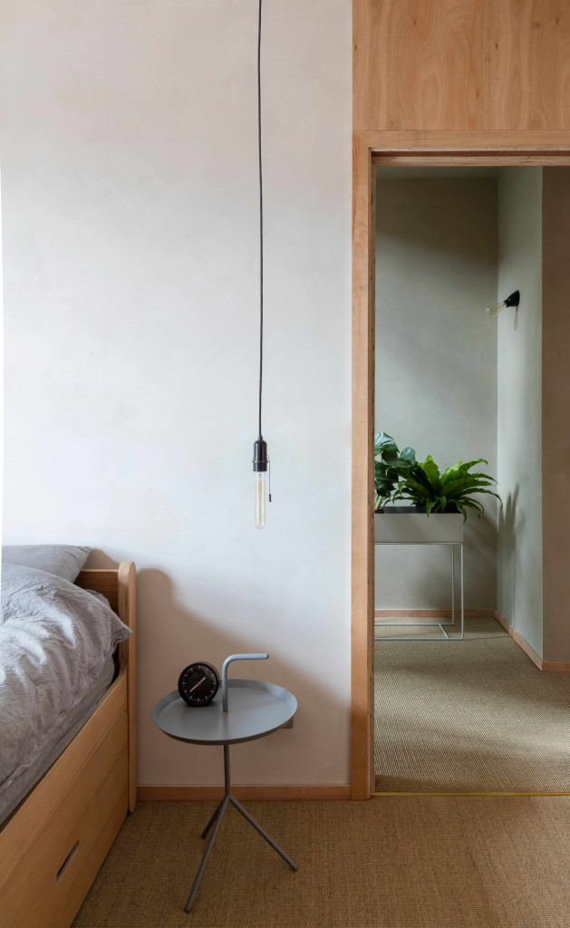 japán enteriőr - agyag falak