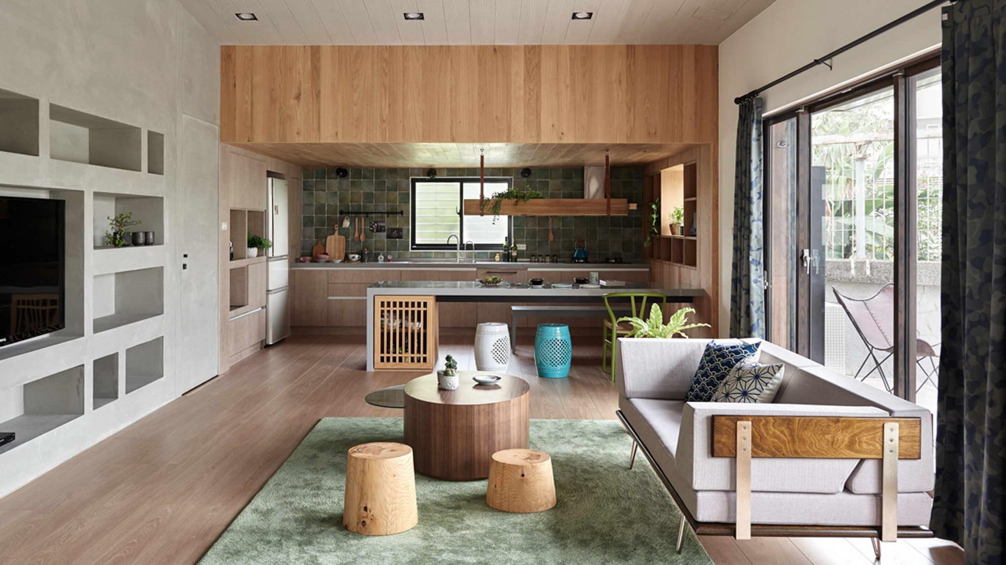 japán enteriőr - tipikus családi ház