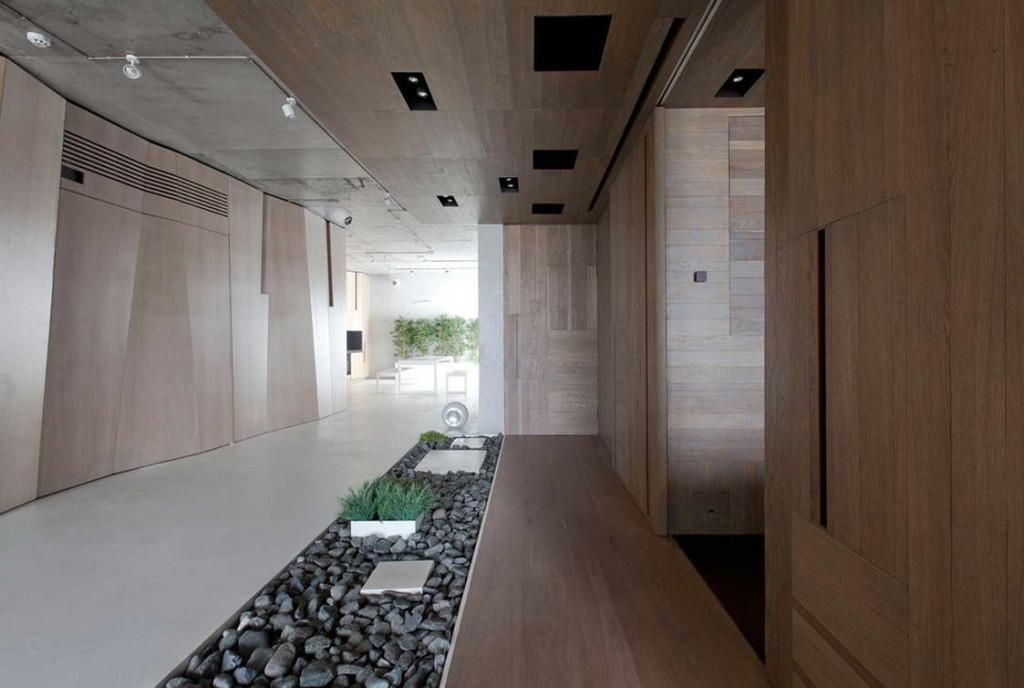 japán enteriőr - lakás moszkvában