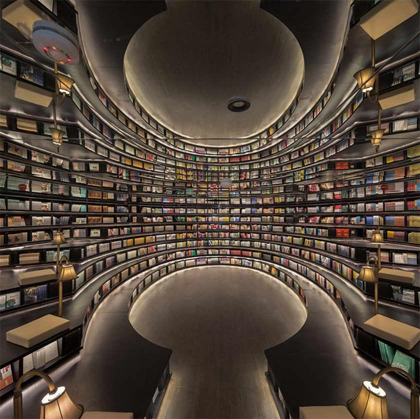 A' design kortárs könyvesbolt
