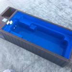 konténer medence - hordozható műanyag belső