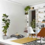 kreatív lakás doboz a nappaliban